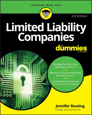 Limited Liability Companies for Dummies Cover Image