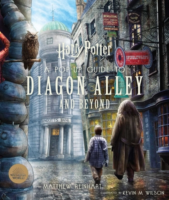 Harry Potter: A Pop-Up Guide to Diagon Alley and Beyond Cover Image