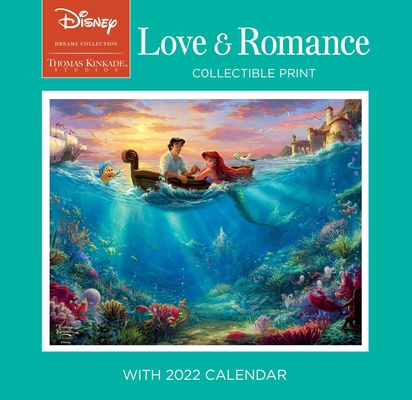 Disney Dreams Collection by Thomas Kinkade Studios: Collectible Print with 2022: Love & Romance Cover Image