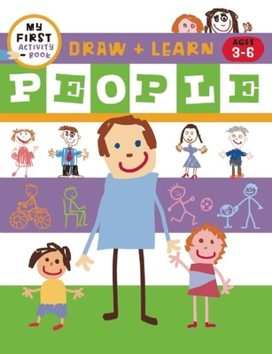 Draw + Learn: People Cover Image