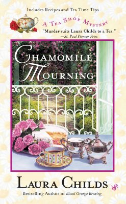 Chamomile Mourning (A Tea Shop Mystery #6) Cover Image