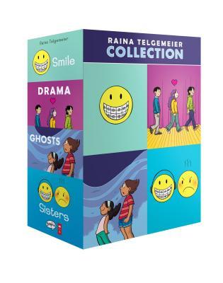 The Raina Telgemeier Collection (A Box Set) Cover Image