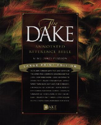 Dake Annotated Reference Bible-KJV-Large Print Cover Image