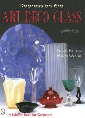 Depression Era Art Deco Glass (Schiffer Book for Collectors) Cover Image