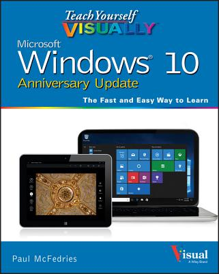 Teach Yourself Visually Windows 10 Anniversary Update Cover Image