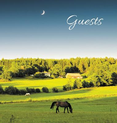 GUEST BOOK for Guest House, Airbnb, Bed & Breakfast, Vacation Home, Retreat Centre: HARDCOVER Visitors Book, Guest Comments Book, Vacation Home Guest Cover Image