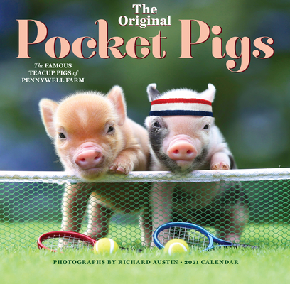 The Original Pocket Pigs Wall Calendar 2021 Cover Image