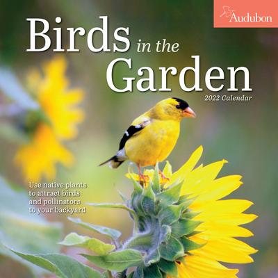 Cover for Audubon Birds in the Garden Wall Calendar 2022