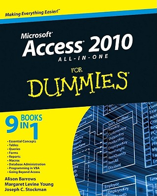 Access 2010 All-In-One for Dummies Cover Image