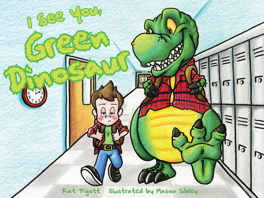 I See You, Green Dinosaur Cover Image