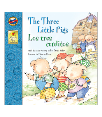 The Three Little Pigs/Los Tres Cerditos (Keepsake Stories) Cover Image