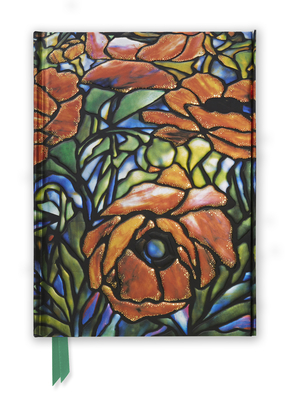 Tiffany: Oriental Poppy (Foiled Journal) (Flame Tree Notebooks #6) Cover Image