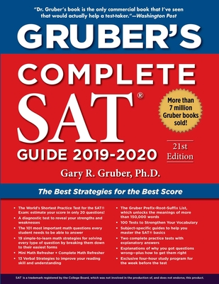 Gruber's Complete SAT Guide 2019-2020 Cover Image