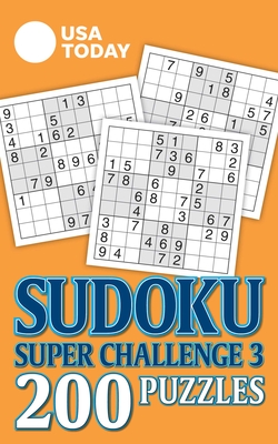 USA TODAY Sudoku Super Challenge 3 (USA Today Puzzles) Cover Image