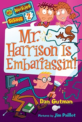 Mr. Harrison Is Embarrassin'! Cover Image