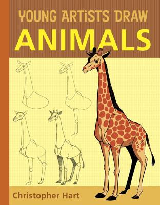 Young Artists Draw Animals Cover Image