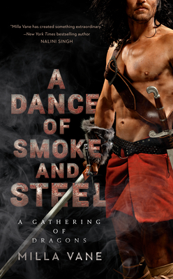 A Dance of Smoke and Steel (A Gathering of Dragons #3) Cover Image