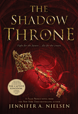 The Shadow Throne (The Ascendance Series, Book 3) Cover Image