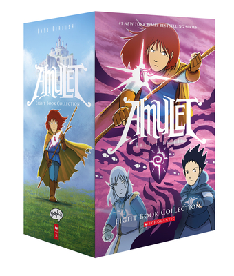 Amulet #1-8 Box Set Cover Image