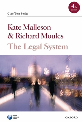 The Legal System Cover Image