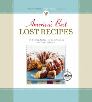 America's Best Lost Recipes Cover