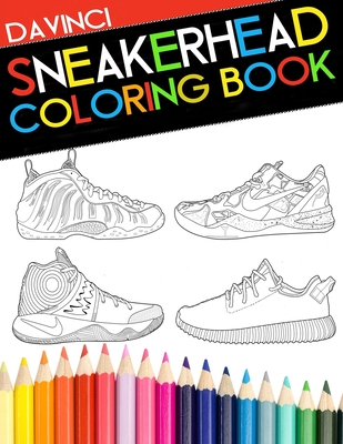 Sneakerhead Coloring book Cover Image