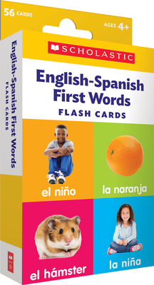 Flash Cards: English-Spanish First Words Cover Image