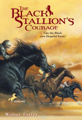 The Black Stallion's Courage Cover