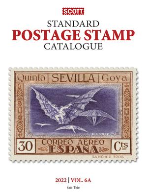 2022 Scott Stamp Postage Catalogue Volume 6: Cover Countries San-Z: Scott Stamp Postage Catalogue Volume 6: Countries San-Z Cover Image