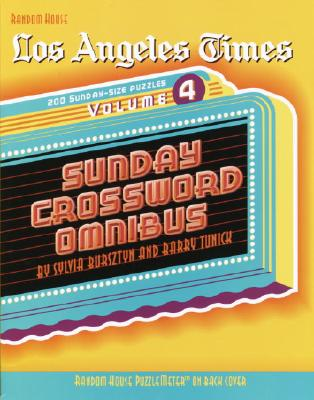 Los Angeles Times Sunday Crossword Omnibus, Volume 4 Cover