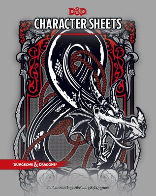 D&D Character Sheets (Dungeons & Dragons) Cover Image