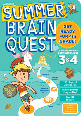 Summer Brain Quest: Between Grades 3 & 4 Cover Image