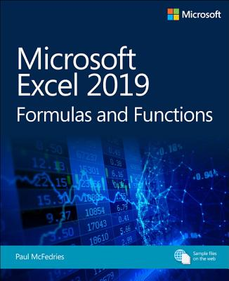 Microsoft Excel 2019 Formulas and Functions (Business Skills) Cover Image