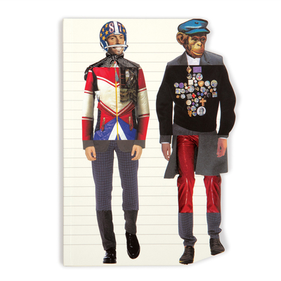 Christian Lacroix Heritage Collection Love Who You Want Die-Cut Notebook--Harlequin & Giraffe Cover Image