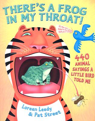 Cover for There's a Frog in My Throat!