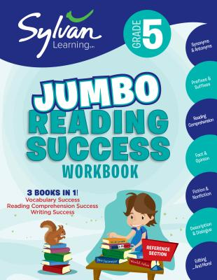 Cover for 5th Grade Jumbo Reading Success Workbook