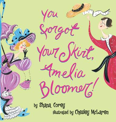 Cover for You Forgot Your Skirt, Amelia Bloomer