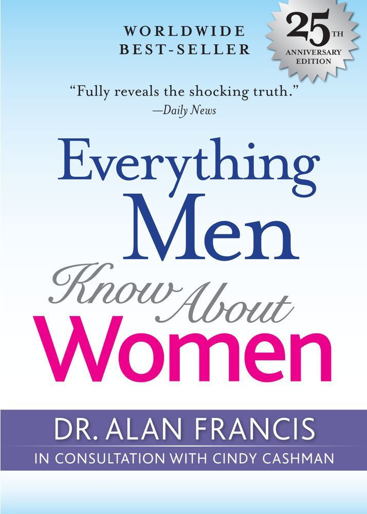 Everything Men Know about Women: 25th Anniversary Edition Cover Image