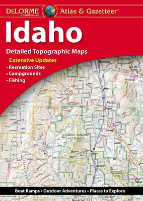 Delorme Atlas & Gazetteer: Idaho Cover Image