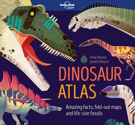 Dinosaur Atlas (Lonely Planet Kids) Cover Image