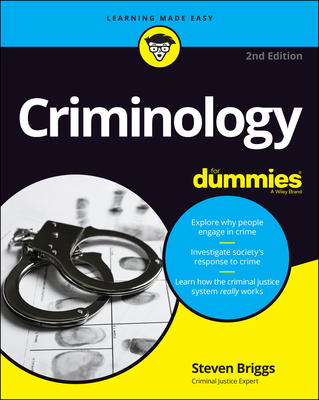 Criminology for Dummies Cover Image