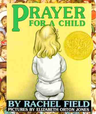 Cover for Prayer for a Child Board Book