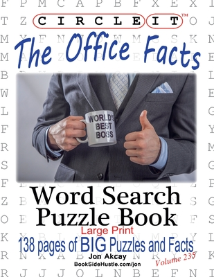 Circle It, The Office Facts, Word Search, Puzzle Book Cover Image