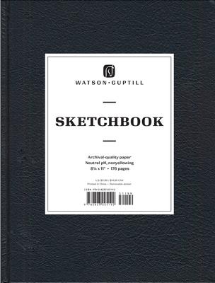 Large Sketchbook (Kivar, Black) Cover Image