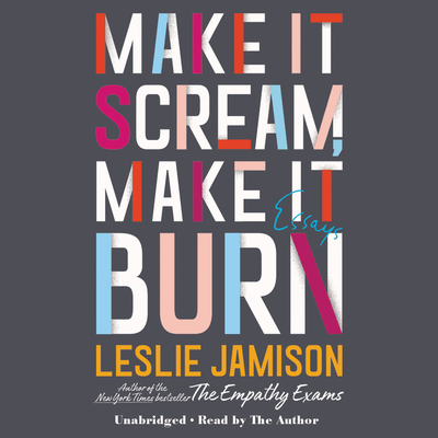 Make It Scream, Make It Burn Lib/E: Essays Cover Image