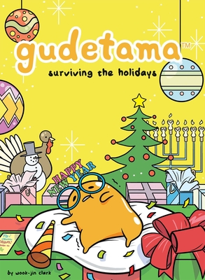 Gudetama: Surviving the Holidays Cover Image