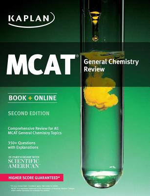 Kaplan MCAT General Chemistry Review: Book + Online Cover Image