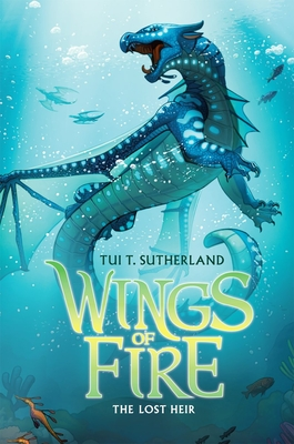 Wings of Fire Book Two: The Lost Heir Cover Image