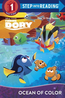 Ocean of Color (Disney/Pixar Finding Dory) (Step into Reading) Cover Image