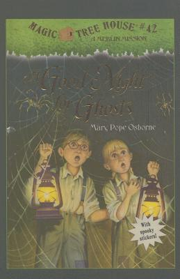 A Goodnight for Ghosts (Magic Tree House #42) Cover Image